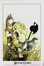 Mouse Guard Print Black Axe by David Petersen 2013 AR