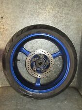 SUZUKI GSXR 600 K7 2006 REAR WHEEL TYRE BLUE 180/55/17 (8A)