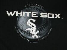 CHICAGO WHITE SOX BASEBALL AMERICAN LEAGUE - BLACK XL T-SHIRT D818