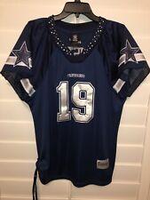 Dallas Cowboys Womens MILES AUSTIN NFL Reebok Cheerleading Jersey Embellish XXL