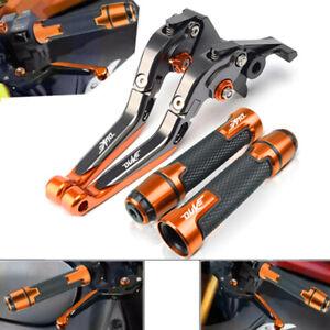 KTM DUKE 125 200 250 390 2012-2020 Folding Extendable Brake Clutch Lever Levers