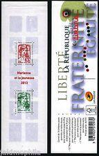 Y&T 1520A Carnet La république au fil du timbre de 2013 neuf ** non plié LUXE