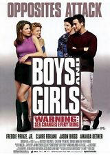 BOYS AND GIRLS MOVIE POSTER ~ ORIGINAL 27x40 Freddie Prinze Claire Forlani