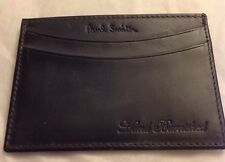 PAUL SMITH Leather Calf Hand Burnished Mens Doc Case Credit Card Wallet NEW NWT