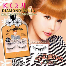 KOJI Dolly Wink False Eyelashes No.17 Diamond Dolly (2 pairs/ box) NEW Version
