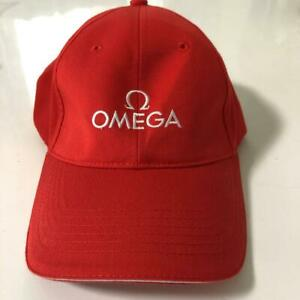 New OMEGA Cap Hat VIP Novelty Gift Limited Red Free Size Men's Accessories
