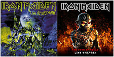 IRON MAIDEN - Live After Death DCD + The Book Of Souls: Live Chapter DCD // pack