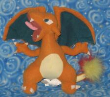 "Pokemon Charizard Plush Doll 8"" 1999 Official Nintendo Next Day USA Shipping"