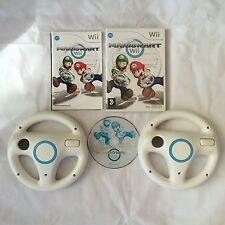 Mario Kart Con 2 UFFICIALE Wii VolantiNintendo Wii PAL COMPLETO