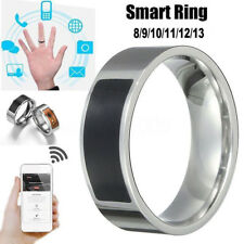 6 Sizes NFC Smart Wearable Ring New Technology For Windows Android Cellphone HOT