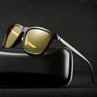 Aluminium HD Polarized Photochromic Sunglasses Men Chameleon Driving Sun Eyewear