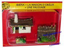 Le VILLAGE d'ASTERIX n° 9 figurine maison d'OBELIX niche d'IDEFIX Atlas PLASTOY