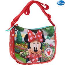 bc0cdadc6e Borsa Tracolla Regolabile 19 cm Scuola Tempo Libero Bambina Minnie Mouse  Disney