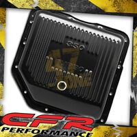 Chevy Gm Turbo Th-350 Steel Transmission Pan (Deep Sump) - Black