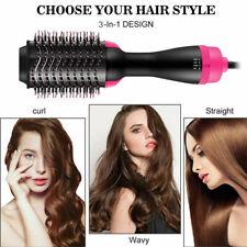 2 in 1 Hair Blow Dryer Brush Comb Hot Air Drying Hair Styler Tool UK plug