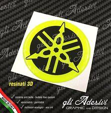 1 Adesivo Resinato Sticker 3D TMAX Xmax R1 R6 MT Fluo Fluorescente 6 cm diapason