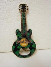 Hard Rock Cafe DUBLIN  Shamrock Fridge Magnet Bottle Opener .