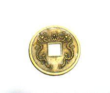 Grandi LUCKY COIN ricchezza prosperità Talisman amulet denaro Cinese Fortuna Charms