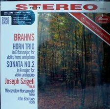JOSEPH SZIGETI  MERCURY  SR-90210  BRAHMS  HORN TRIO + SONATA  HORSZOWSKI
