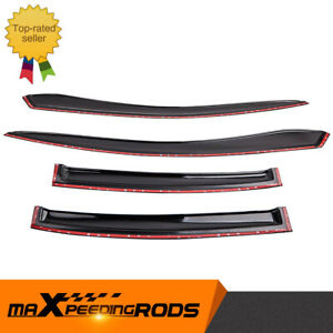 4-Door Weathershields Weather shield For Holden Commodore VT VY VX VZ 1997-2007
