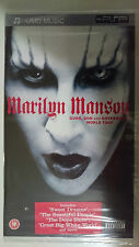 MARILYN MANSON GUN GOD AND GOVERNMENT WORLD TOUR UMD PSP SONY SIGILLATO