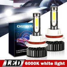 2x 9007 HB5 LED Headlight High Low Beam Bulb 210000LM 6000K  for SUZUKI SX4 2013