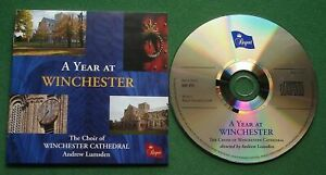 A Year At Winchester The Choir Of Winchester Cathedral Andrew Lumsden CD