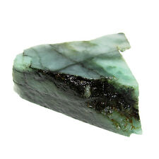 Awesome 131.00Ct. Rough Shaped 100% Pure Natural Untreated Green Emerald CH 6482