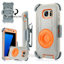 Heavy Duty Shockproof Rugged Hybrid Case Cover Samsung Galaxy S6 S7 S8 / S9 Plus