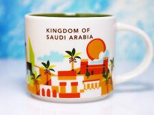 + STARBUCKS City Mug + KINGDOM OF SAUDI ARABIA + NEU SKU YOU ARE HERE YAH Tasse