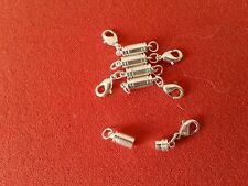 Magnetic clasp converters. 5 x gold colour. Easy fix for tiny necklace clasps