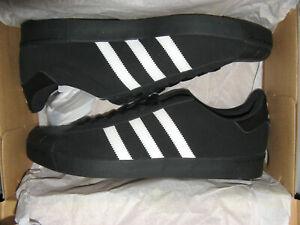 Adidas Superstar Vulc ADV Mens Suede Skateboard Shoes Black White 11 11.5 12