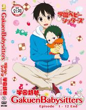 DVD ANIME Gakuen Babysitters Vol.1-12 End English Subs Region All + FREE DVD