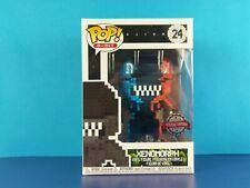 8-Bit Orange & Blue Xenomorph Funko Pop Vinyl Figure Alien #24