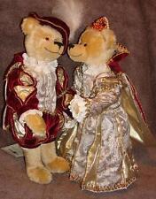 PRINCE & PRINCESSE Steiner Teddy Bears idéal cadeau de mariage Ltd Rare avec STEIFF K