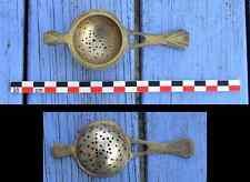 Passe thé art déco en métal argenté, très bel objet ancien,