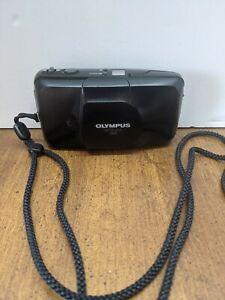 Olympus Infinity Stylus Zoom Black 35mm Point & Shoot Camera w/ 35-70mm lens