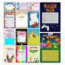X 20 CHILDRENS KIDS BIRTHDAY PARTY INVITATIONS INVITES BLANK PACK BOYS GIRLS