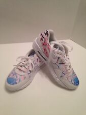 Rare Custom Women's  Nike Air Max Shoes Sneakers Floral Perfect Condition Size 8
