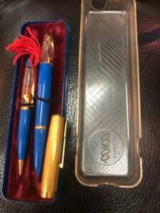 """Souvenir set - pen and automatic pencil """"Goldfish"""". 1970"""