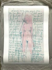 Tracey Emin - I Am The Last of My Kind - Un signed Poster -