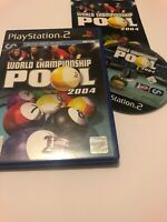 😍 jeu playsation 2 ps2 ps3 pal fr world championship pool 2004 billard