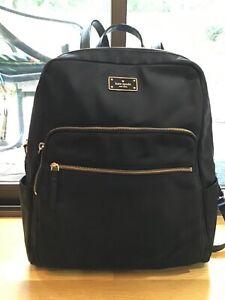Kate Spade Large Hilo Blake Avenue Computer Backpack - Black