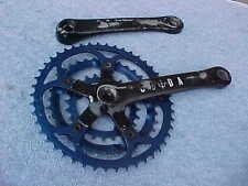Sugino CODA Vintage Mountain Bike 175 Triple Cranks Crankset 110 BCD Anodized