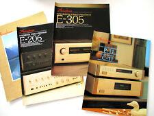 Accuphase Katalog Prospekt 80er 90er Hifi Audio Technik HI-FI E-206 305 P C-11