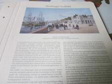 Archivio Amburgo 1 immagine città 1093 Hafentor e porto diga 1846 Peter Suhr
