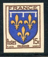 STAMP / TIMBRE FRANCE NEUF N° 604 ** NON DENTELE / BLASON / ORLEANAIS