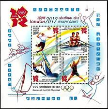India 2011 MNH Miniatures Stamps London 2012 Olympic Games