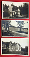 3 x Foto AK SCHMIEDEFELD Thüringen um 1930 Ferienheim Stutenhaus   ( 12968