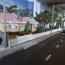 Ho Scale Picket fence with gates